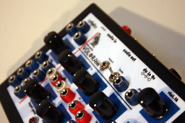 Volфram is semi-modular noise synthesizer and fx-proccesor based on digital 8-bit echo chip Ht-8970. system.